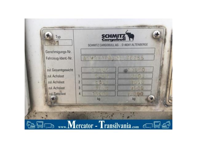 Semiremorca Schimtz  S 01