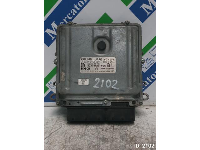 Calculator Motor Bosch 0 281 015 051, Mercedes Benz Sprinter W 906, Euro 4, 112 KW, 2.2 CDI, 2008