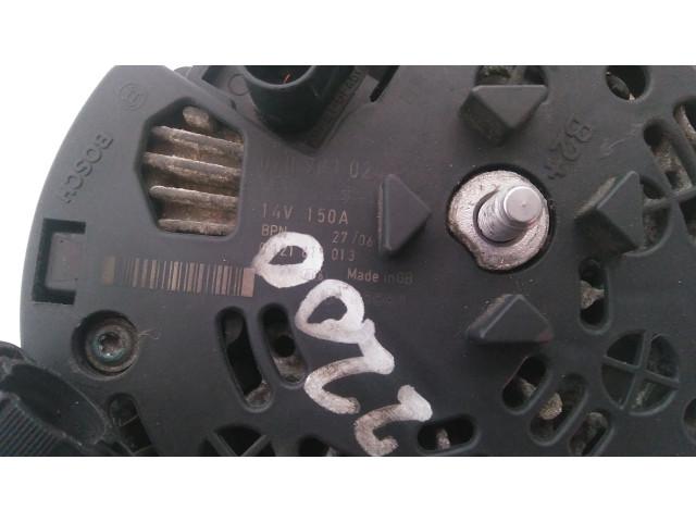 Alternator Bosch 0 121 615 013, Volkswagen T5, Euro 4, 96 KW, 2.5 TDI, 2006
