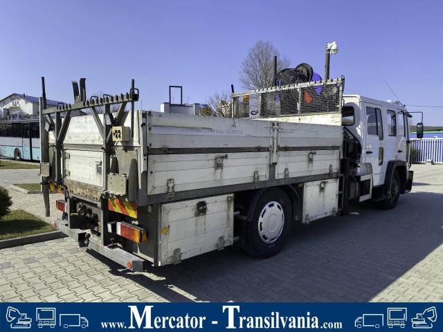 Volvo FL614 | Macara  Hiab 092-3 cu Telecomanda |