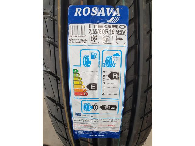 Rosava Itegro, 215/60 R16, 95V