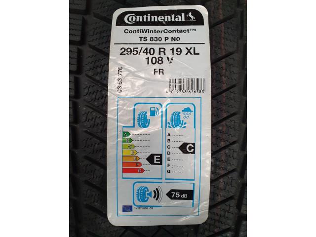Continental, ContiWinterContact TS 830 P NO, 295/40 R19, 108V XL