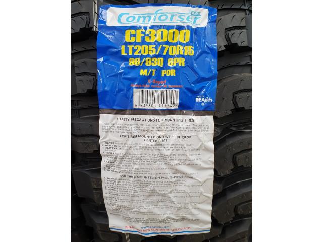 205/70 R15 OFF Road , Comforser CF3000 , 6 Pliuri