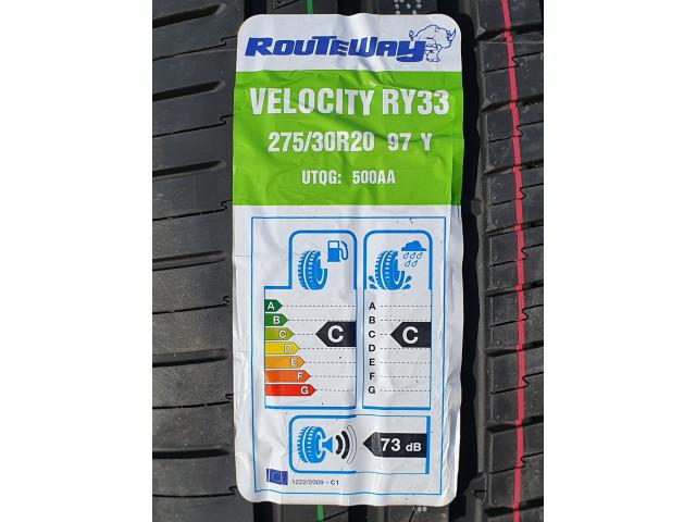 275/30 ZR20 , Routeway , Velocity RY33