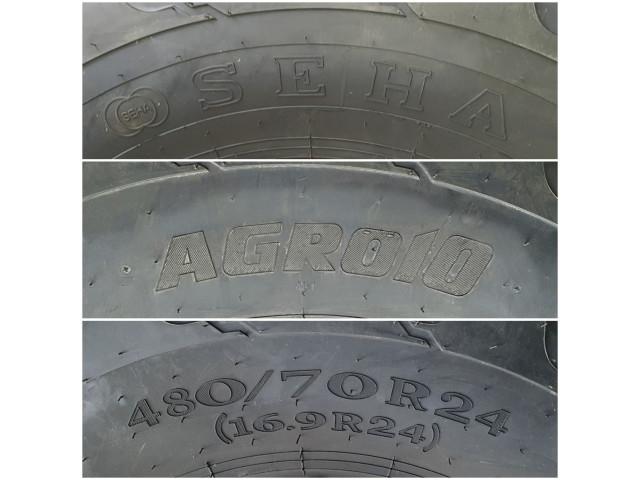480/70 R24 ( 16.9 R24 ) , Seha , Agro10
