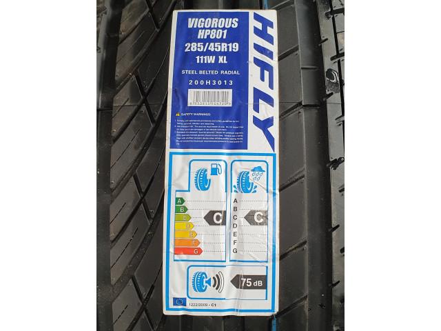 285/45 R19 , Hifly , Vigorous HP801