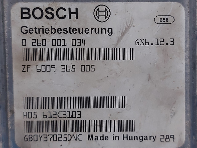 Calculator Cutie Viteza Bosch 0 260 001 034   ZF 6009 365 005