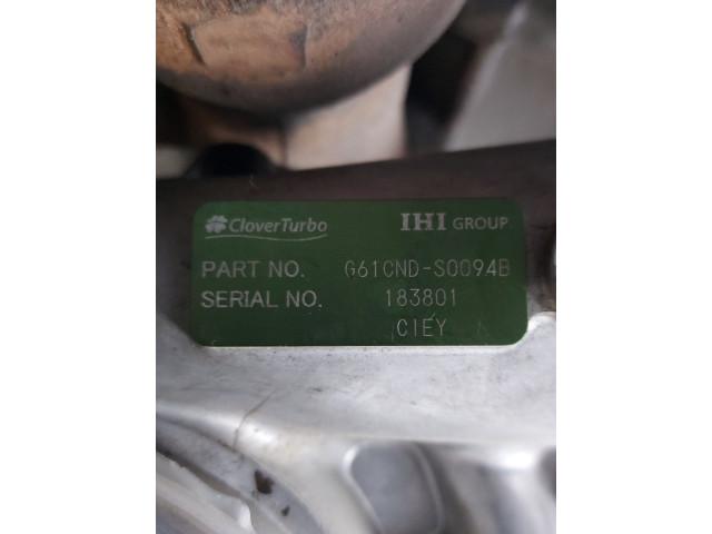 Turbosuflanta IHI Parts NO. G61CND-S0094B, 179 KW, 7790 cm3, Hitachi, ZW250, 2008