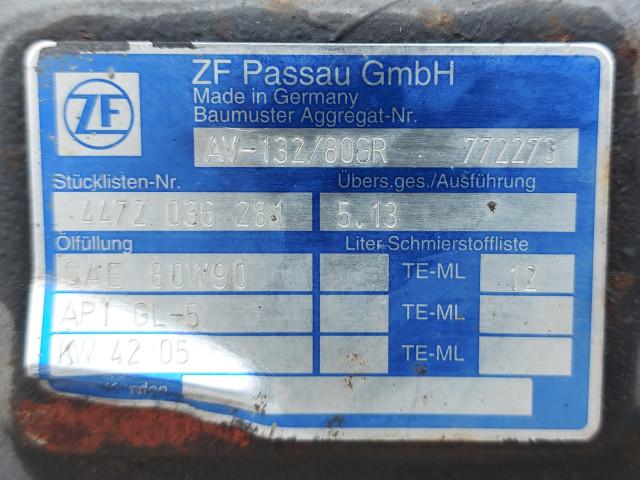 Punte Spate ZF AV-132/80GR  Stücklisten-Nr.4472 036 281 / 5.13