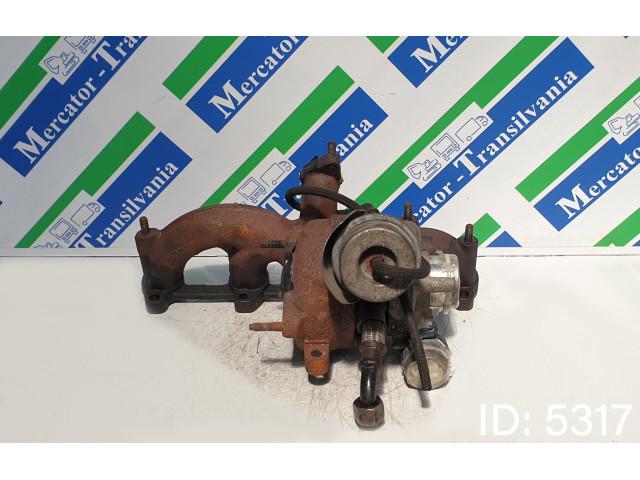 Turbosuflanta KKK KP39A0006, Euro 3, 74 KW, 1.9 TDI