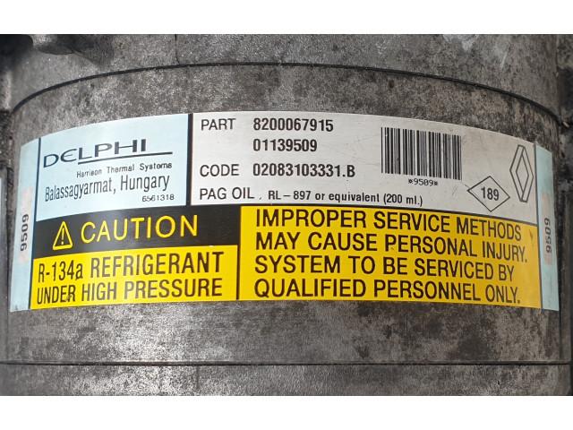 Compresor Clima Delphi 02083103331.B / 8200067915 / 01139509, Euro 3, 110 KW, 2.2 DCI