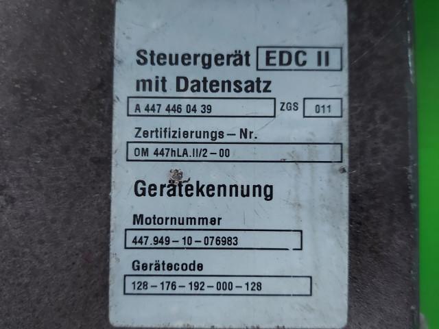 Calculator Motor Bosch A 000 446 08 39, 0 281 001 433, Euro 2, 184 KW, 11967 cm3