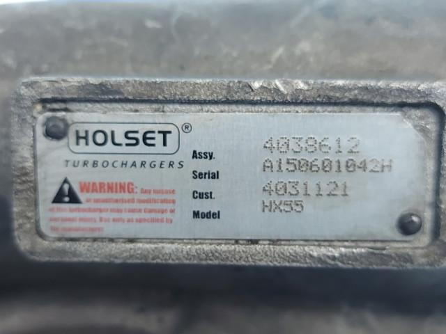Turbosuflanta Holset HX55, 4038612, 4031121, Euro 3, 280 KW, 10640 cm3