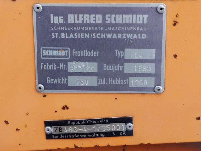 Sistem incarcator frontal Unimog, SCHMIDT, FL4 / 5241 392.09