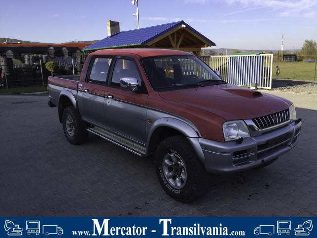 Mitsubishi L200 K74T  | 2.5 TD 90 CP | 1998 Euro 3