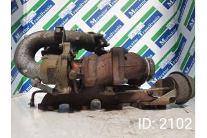 Turbosuflanta BorgWarner A 646 090 1180, Euro 4, 112 KW, 2.2 CDI