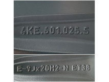 Set Jante Aliaj pe 20 – Audi Q5, Q7, E-Tron