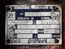 Cutie de viteza ZF 8 S 180, Stücklisten Nr.1304 054 066  /  8.73-1.0