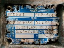 Cutie de viteza ZF Ecomat 5 HP 500,Parts NO. 4139 003 369 / 3.43-0.83