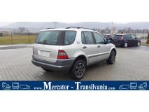 Mercedes ML 320 | 3.2 Benzina 218 CP | 112942 | Euro 3 | Piele | Pilot automat