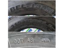 Belshina Bel-138M, 315/70 R22.5, 152/148 M