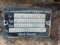 Punte Spate Mercedes Typ HL6/1DCS LC -13, i=43.9, Mercedes Benz Atego, 2001