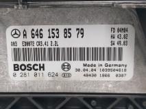 Calculator Motor Bosch A 646 153 85 79, Euro 4, 112 KW, 2.2 CDI