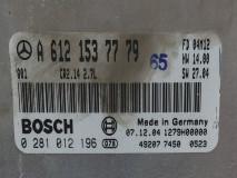Calculator Motor Bosch A 612 153 77 79, Euro 4, 125 KW, 2.7 CDI