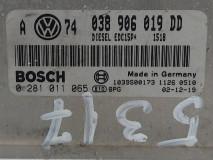 Calculator Motor Bosch 038 906 019 DD, Euro 3, 74 KW, 1.9 TDI