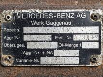 Cutie de viteza Mercedes Benz GO4/160-6/7,18  l  7,18 - 1,0