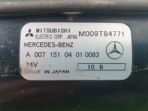 Electromotor Mitsubishi M009T84771 / A 007 151 04 01 0083 24V, Euro 3, 260 KW, 11967 cm3