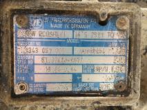 Cutie de viteza  ZF NEW ECOSPLIT 16 S 2521 TO Parts NO. 1343 051 002, Euro 4, 353 KW, 12419 cm3, 2007